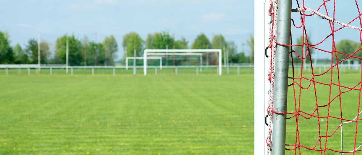 Playing Fields - Landing Page