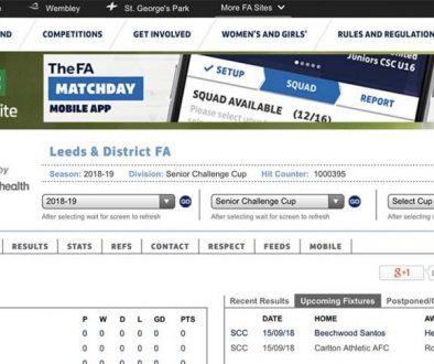 Leeds FA - FA Full Time
