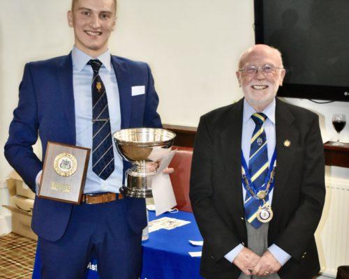 2020 LDFA - Jim McAulay Young Referee - Sam Bragg