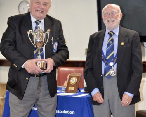 2020 LDFA - Ken Houlden Trophy Long Service To Referees - Alf Hayes
